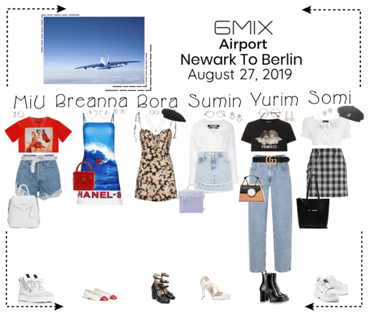 《6mix》Airport | Newark To Berlin