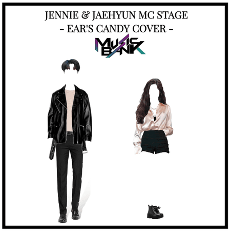 JENNIE and JAEHYUN MC stage Ear's candy