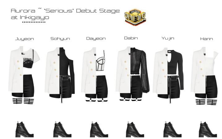 """Aurora ~ """"Serious"""" Debut Stage @ Inkigayo"""