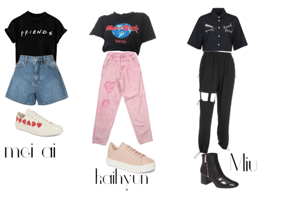 DIB maknae line vlive outfit's