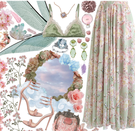Pastel flowers: Divine femininity