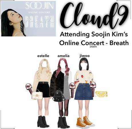 "Cloud9 (구름아홉)   Attending Soojin Kim's Online Concert ""Breath"""
