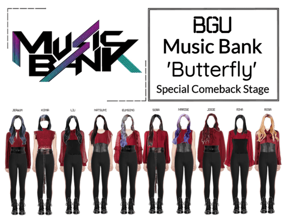 BGU Music Bank 'Butterfly' Special Stage