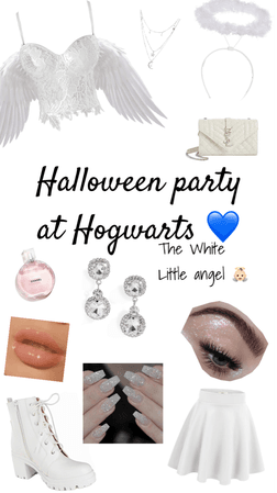 Thalya Collection ~ Halloween party at hogwarts, The little white angels