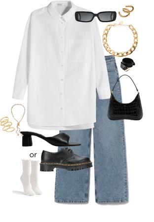 fancy jean outfit