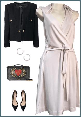 NY CO WHITE DRESS
