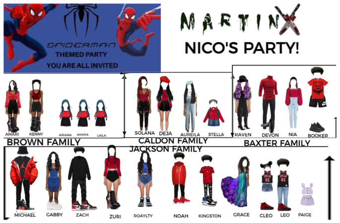 NICO'S PARTY (GONE WRONG)- MARTINX