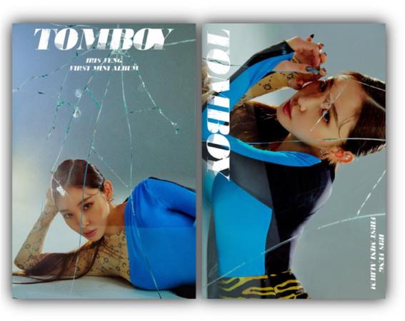 라로그 [𝗟𝗮 𝗥𝗼𝘂𝗴𝗲] - Iris Feng 'Tomboy' concept photo (14042021)