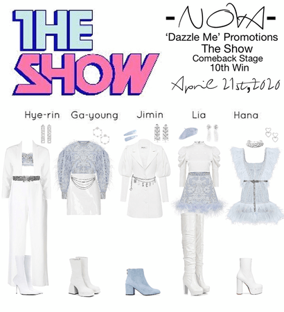 -NOVA- 'Dazzle Me' The Show Stage