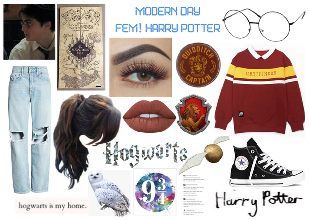 Modern Day Characters Twenty-Two:Fem! Harry Potter