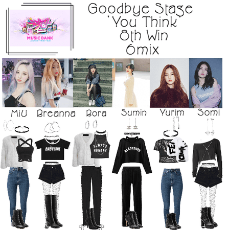 6mix - Music Bank Goodbye Stage For 'You Think'