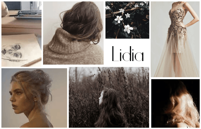 Name Aesthetic Board : Lidia