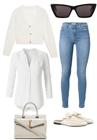 Cream casual