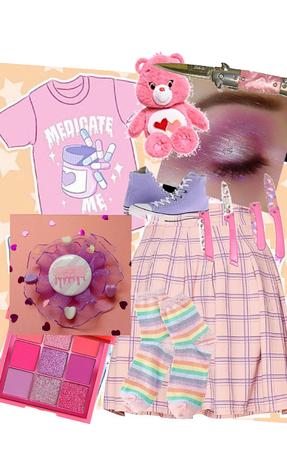menhera kei yami kawaii pastel outfit 5
