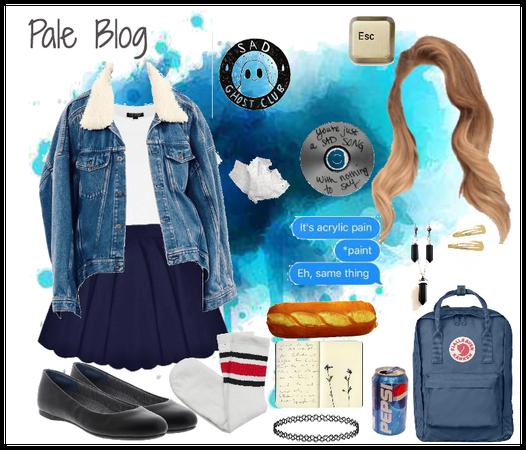 Tumblr Blog: Aesthetic (2) : Pale Blog
