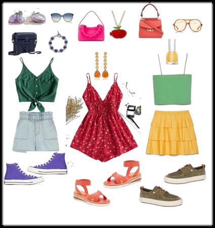 Analogous Outfits