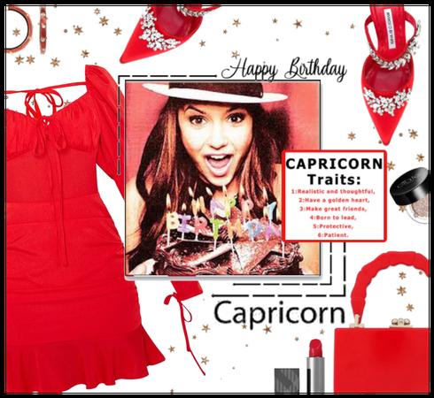 Happy Birthday to the Capricorn