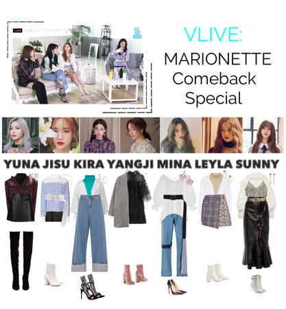 {MARIONETTE} V Live App Outfit