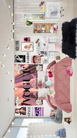 teen Vogue room