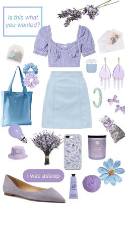 blue + purple