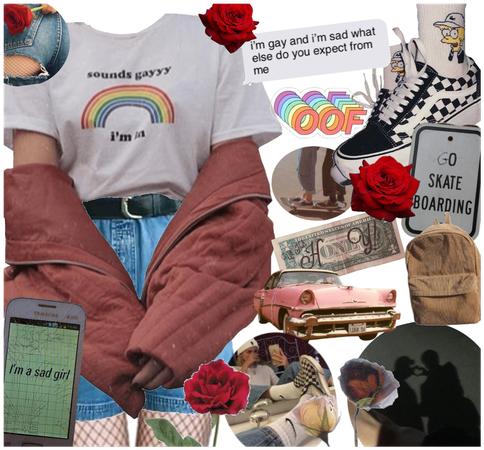 Pride Vintage Aesthetic Fit (Gay Version)