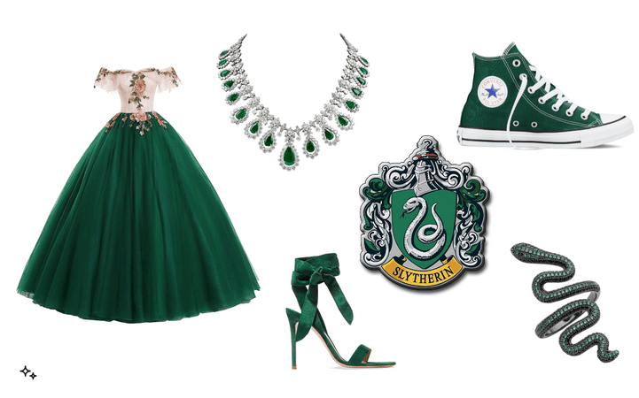 Slytherin @ Yule Ball?