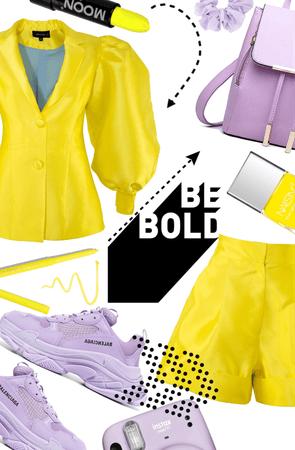 be bold ~ yellow challenge