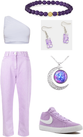 grape outfit