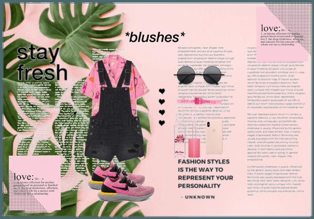 pink streetwear