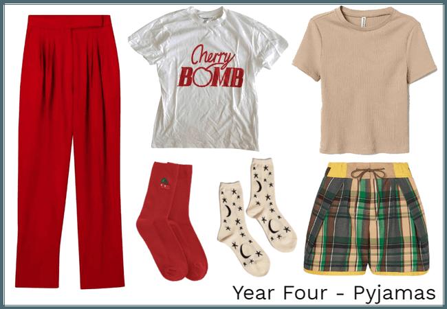 Year Four - Pyjamas