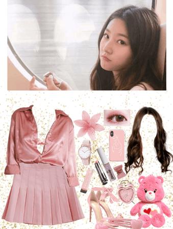 Ahn Ji-a // Lucy [debut]