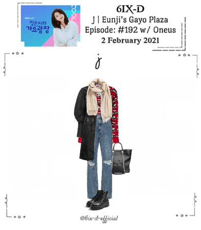 6IX-D [식스디] (J) Eunji's Gayo Plaza 210202