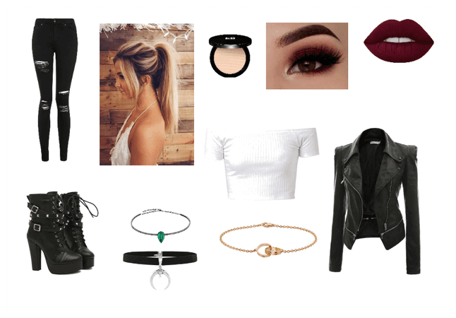 Diana Outfit for 1st day ( Quotev fic story )
