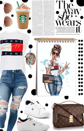 Art Inspired: The Way She Wears It