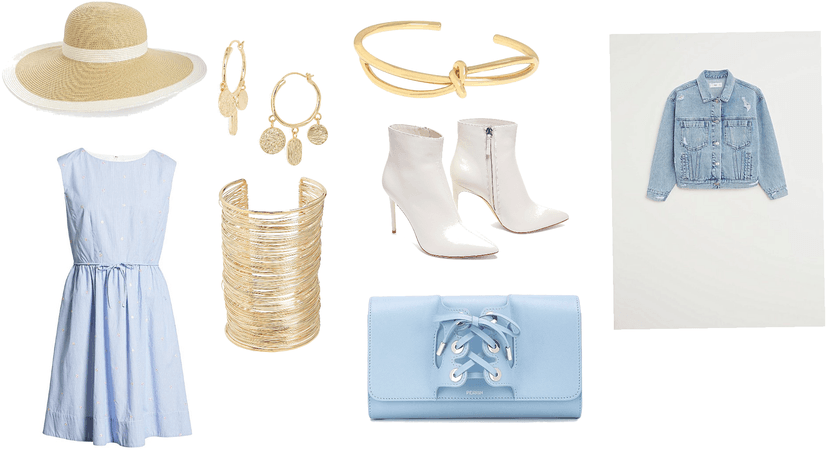 Blue And Gold Summer