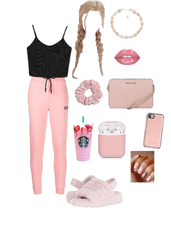 """The perfect """"stay home""""teen who LOVES pink♡︎"""