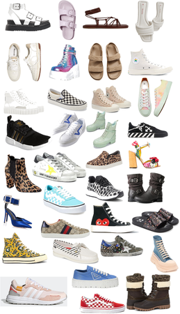 Shoes collage