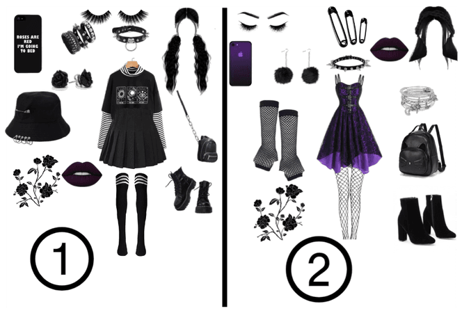 Would you rather wear 1 or 2