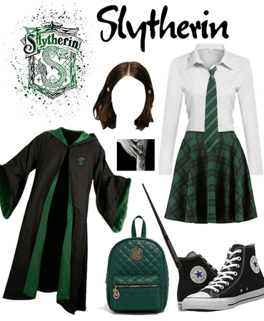 girl slytherin costume