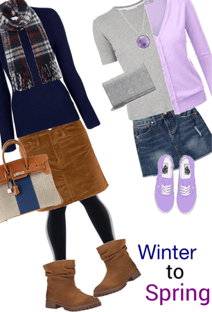 Winter to Spring: Skirts