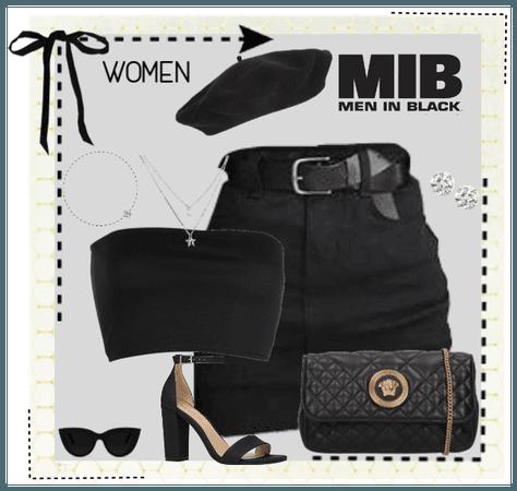 Men/Women in Black