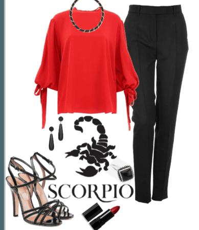 Scorpio's night out.