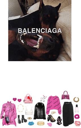 bubblegum & balenciaga
