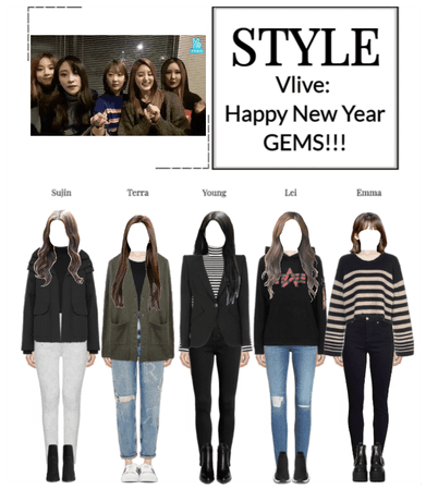 STYLE VLive: Happy New Year GEMS!!!