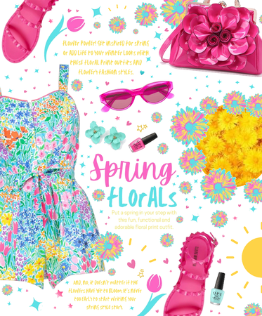 Spring florals 💕💙