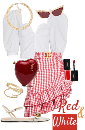 Red & White Combo