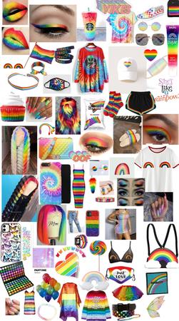 rainbow 🌈 🏳️🌈❤️
