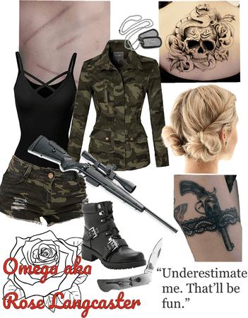 TWD OC: Rose Langcaster/Omega