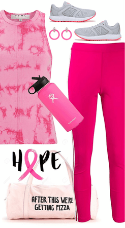 Workout in Pink
