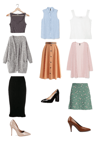 office outfits pt. 01